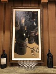 Painting (sarahstierch) Tags: josephphelpsvineyards josephphelps wineries napavalley sthelena sainthelena luxury wine winecountry wineindustry winetasting california usa napa county