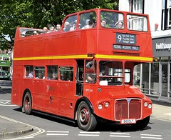 510 CLT London Transport London Buses RM 1510 AEC  Routemaster with Park Royal body at Winchester May18 by Martin Arrand (focus- transport) Tags: winchester original king alfred running day london transport buses hants dorset mervyns coaches portsmouth corporation sussex red white southdown brighton hove aldershot district alder valley western national royal blue bedford sb3 val ob owb aec routemaster park renown bristol ld lodekka flf vr relh6g eastern coachworks ecw leyland atlantean olympic titan pd2 tiger cub dennis lance guy arab iv mcw weymann roe shorts