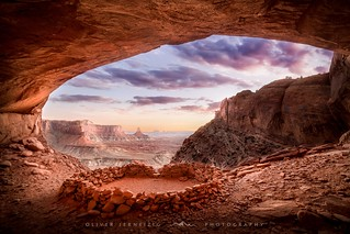 ● false kiva ● canyonlands n.p ● usa ●
