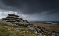 Storm Passing Over Rough Tor (James Etchells) Tags: cornwall kernow rough tor nikon lee filters sky clouds rocks grass landscape landscapes nature natural world outdoor outdoors westcountry south west england britain uk bodmin moor colour color storm heritage historic ancient old history monument project