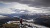 The Cowal Peninsula (Russell-Davies) Tags: argyll cowal highlands loch lochgoil uk scotland canon 6dmkii summit portrait snow winter hiking lochlomond arrochar corbett
