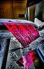 Contrôle sécurité (CELURBEX) Tags: vaucluse ancien abandonado abbandonato abandoned abandonné old vieux explorar esplorare explore wasteland friche oublié urbex exploration urban graffity graff tag water eau industrie production lumix carton papier macro