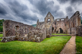 The majestic Tintern Abbey in Wales