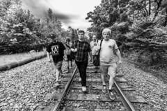 Reservoir Buffs (sullivan1985) Tags: group walking tracks