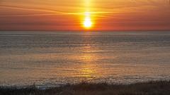 Solnedgang ved Ferring Strand 1 (Walter Johannesen) Tags: solnedgang sunset ferring strand beach vestkysten west coast jylland jutland denmark danmark