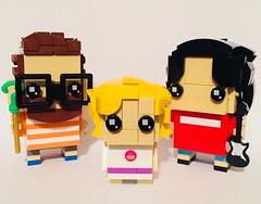 My Brickheadz Family (njgiants73) Tags: custom creation own moc family 41597 2018 me brick go brickheadz lego