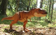 Tyrannosaurus Rex (rodstoybox) Tags: jurassicpark jurassicworld lostworld jurassic dinosaurs dinosaur trex mattel toys kenner tyrannosaurusrex fallenkingdom