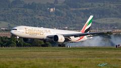 A6-EBV B777-31H/ER Emirates (kw2p) Tags: a6ebv aircraft airlineoperator airport aviation b77731her boeing egpf emirates airline aeroplane airplane kw2p gaaec glasgowairport egpfgla scotland
