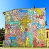 Tuttomondo (forastico) Tags: forastico d7100 pisa toscana murales colori keithharing tuttomondo
