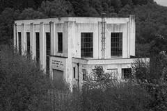 Carsfad Power Station, 1936, Galloway (Richard Needham) Tags: gallowaywaterpowerscheme siralexandergibb galloway powerstation scotland blackandwhite architecture industrial hydroelectric