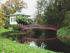 Shugborough reflections (eliserichards) Tags: vibrant colour river pretty green nationaltrust shugborough bridge reflections reflection