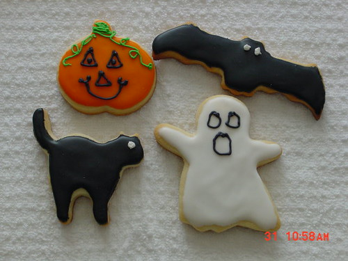 Decorated Cookies - Halloween