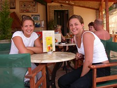 Swedish Girls (RobW_) Tags: 2003 june swedish greece zakynthos freddiesbar tsilivi jun2003 freddiesgirls freddiesfolks