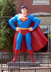 Metropolis, IL Superman (army.arch) Tags: statue illinois superman il metropolis