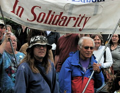Photo: In Solidarity at the Peace March