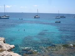 Cala azzurra (marina's pics) Tags: favignana estate2006