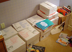 Boxes of Books