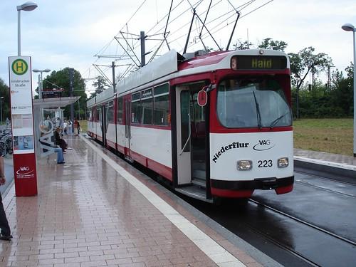 Trolley in Vauban