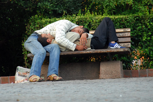 gay, or drunk, or drunken gays? not sure how prevalent the gay community in ...