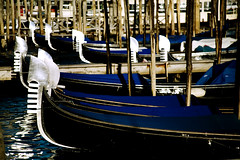 gondole* 12 (* tathei *) Tags: travel venice italy water canon river eos boat europe italia 5d gondola dslr venezia gondole 28135mmis