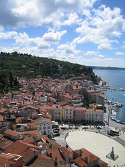 The Trg From Above (~lemongrass~) Tags: slovenia piran