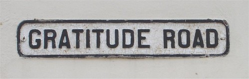 Gratitude Road by bartmaguire, on Flickr