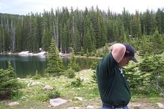 Twin Lakes Rusty (steve-stevens) Tags: wyoming twinlakes snowyrange