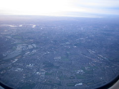 London September 2006 (Danny McL) Tags: london thames aerial arsenal 2012 roundpond finsburypark clissoldpark emiratesstadium thedome whitehartlane isleofdogs ukair
