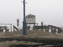 18th Avenue Sand (Sister72) Tags: ocean street storm beach water rain sand surf waves wind sandy nj boardwalk belmar labordayweekend oceanavenue blowingsand monmouthcountynj 18thavenue september2006 abigmess ernesco