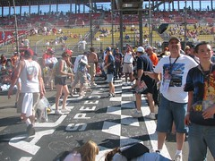 Start/Finish line (detroit_fox) Tags: racing nascar fontana startfinishline californiaspeedway pitroad