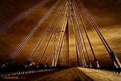 Gdansk - most wantowy (Elisabeth Gaj) Tags: travel architecture europa bridges poland polska polen gdansk elisabethgaj 100commentgroup