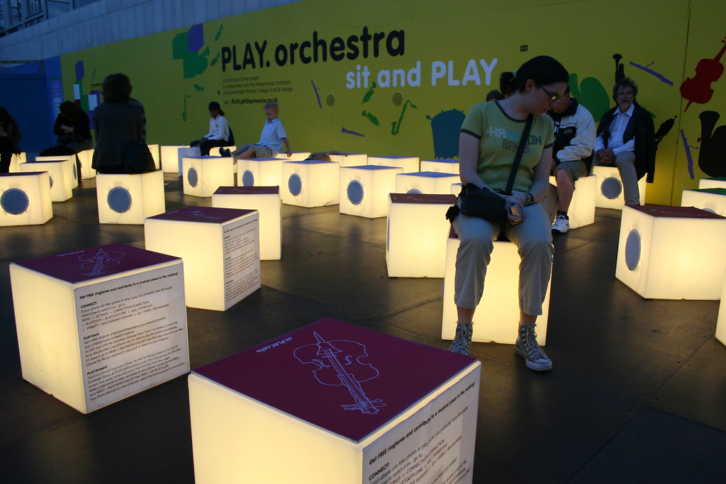 PLAY. orchestra