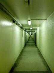 Parking fine (gingerbeardman) Tags: park car point lights parking fine pipe tunnel prison hyde k600i forever vanishing rectangle pound infinite