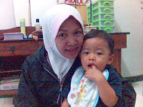 Rayhan and Mom