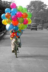 balloons - by khalilshah