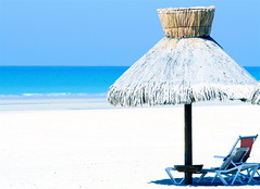 peaceful (jodi_tripp) Tags: blue summer vacation sky beach water umbrella relax mexico paradise teal dream palapa allrightsreserved rockypoint sandchair gtaggroup joditripp challengeyouwinner wwwjoditrippcom photographybyjodtripp joditrippcom