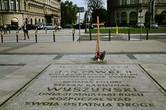 pl. Jzefa Pitsudskiego (* tathei *) Tags: city travel canon eos memorial europe cross poland polska warsaw 5d dslr warszawa 28135mmis