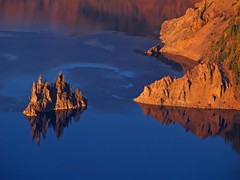 Adrift (Matt Champlin) Tags: life park sunset reflection oregon quality adrift national crater craterlake phantom stillness magicdonkey abigfave frhwofavs eliteimages lifetravel