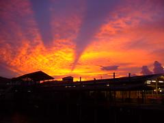 Sunset in Hua Hin (Ian Campsall) Tags: travel sunset holiday clouds thailand pier asia honeymoon great views lonelyplanet hua 50 hin 50views natureslight thebiggestgroup httpiancampsallsmugmugcom