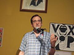Intro by Mark Crispin Miller (Kate Anne) Tags: brooklyn liberal progressive voxpop markcrispinmiller