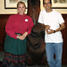 Courtney Ryan and Miguel Santana at Disney's Wilderness Lodge