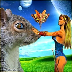 Squirrel Master (Terry_Lea) Tags: squirrels tbas terrizinagoddessoftheuniverse touchablysoft