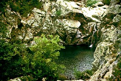Angels' pool, August 1957 (angeloska) Tags: hiking ikaria icaria  trails blogged artemis nas   chalares   angelolivada tauropolos angelspool