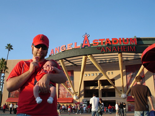 hello from Angel stadium!