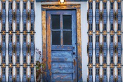 beauty of the old door (Ari Hahn) Tags: door blue composite d50 nikon nikond50 tilt instantfave superaplus aplusphoto