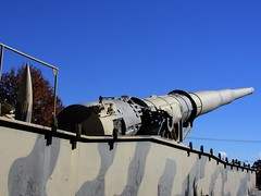 BI684 Kanone 5 280mm Rail Artillery (listentoreason) Tags: history museum geotagged technology unitedstates military maryland places worldwarii artillery score40 groundforces