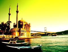 Bosphorus and Ortaky Mosque - stanbul - Turkey (serkanizm_83) Tags: sea turkey trkiye istanbul mosque cami bosphorus turkei ortaky 333v3f 222v2f 444v4f 111v1f boaziikprs