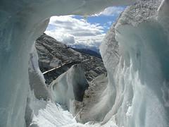 Rhone Glacier (mattrkeyworth) Tags: snow ice switzerland sony glacier cave v1 dscv1 rhôneglacier anawesomeshot newlighte mattrkeyworth