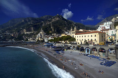 Amalfi Coast (bgladman) Tags: travel italien italy sun holiday photography coast photo sand nikon europe italia amalficoast d70 stock explore coastline nikkor nikondigital italie amalfi   blgadman italiya brendangladman   a