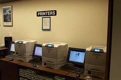 Printers (highlinelibrary) Tags: plaza library biblioteca printers highline firstfloor hcc informationcommons highlinecommunitycollege librarytour highlinelibrary plazalevel maktabad hcclibrary